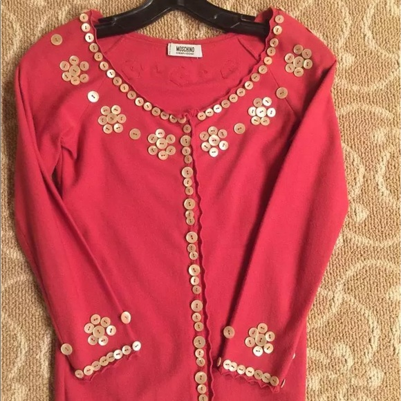 And Size Vintage Moschino 40 Cheap Chic Sweater 7gIYbfy6v